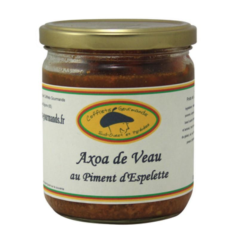 axoa de veau au piment d'Espelette