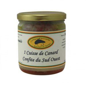 CUISSE DE CANARD CONFITE DU SUD OUEST