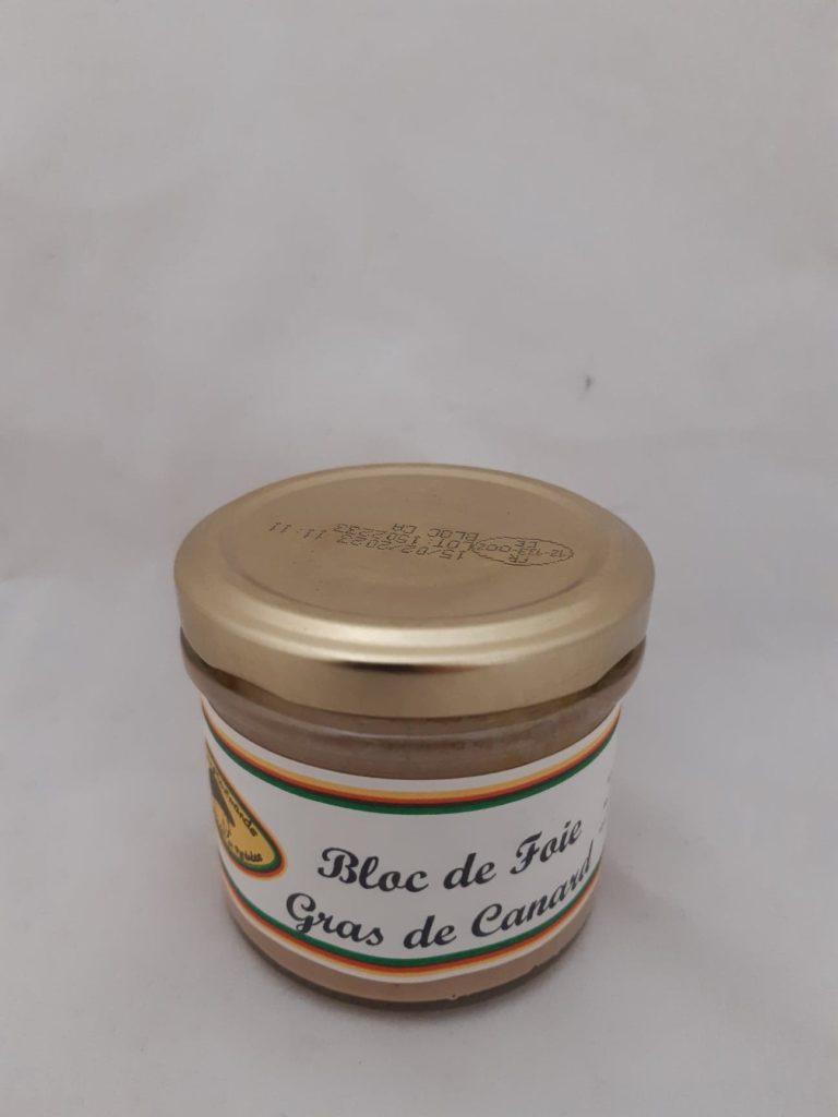 bloc foie gras canard 90g