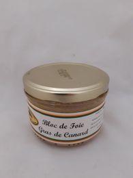 bloc foie gras canard 180g