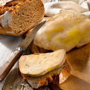 foie gras canard mi-cuit