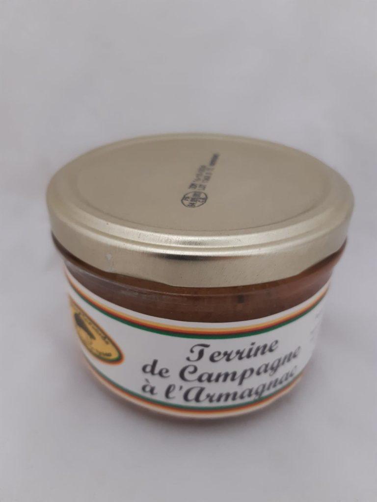 terrine de campagne à l'Armagnac