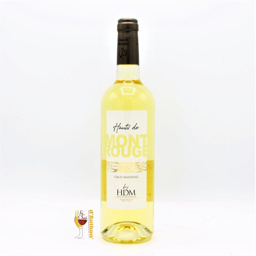 vin blanc hauts montrouge gros manseng